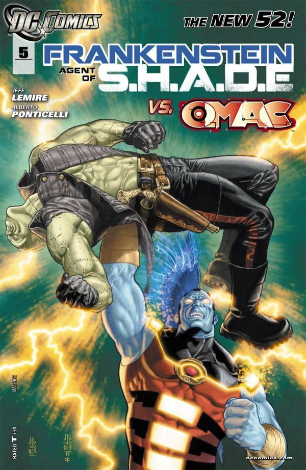 Frankenstein, Agent of SHADE (2011-2013) #5