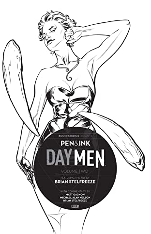 Day Men: Pen & Ink #2