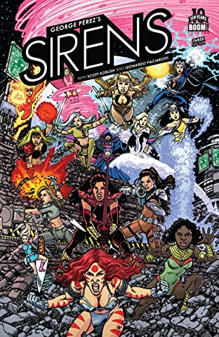 George Perez's Sirens #3 (of 6)