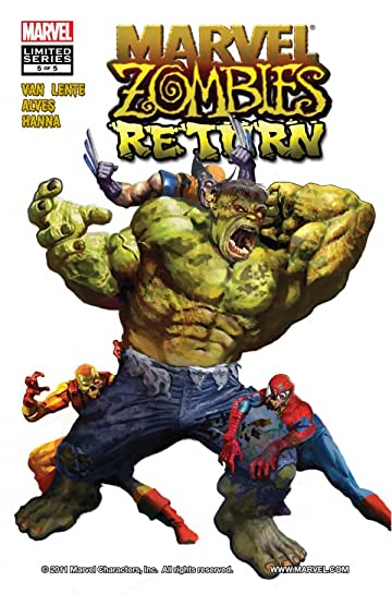 Marvel Zombies Return #5