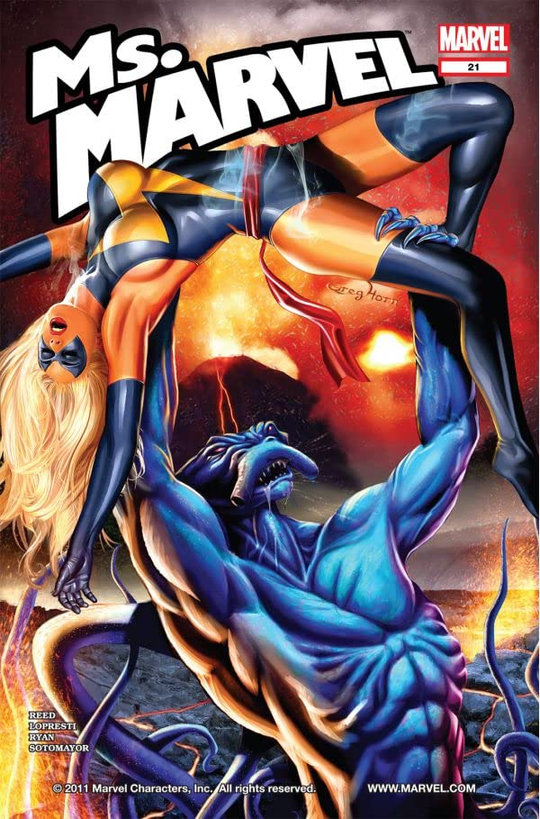 Ms. Marvel (2006-2010) #21