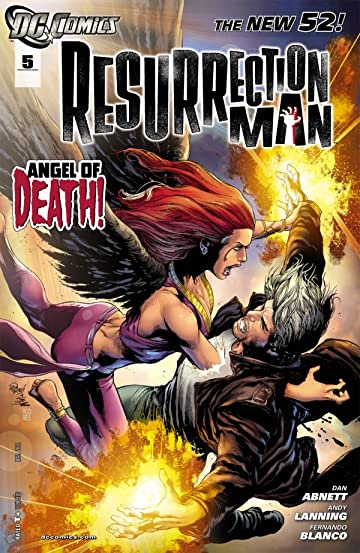 Resurrection Man (2011-2012) #5