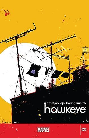 Hawkeye (2012-2015) #22