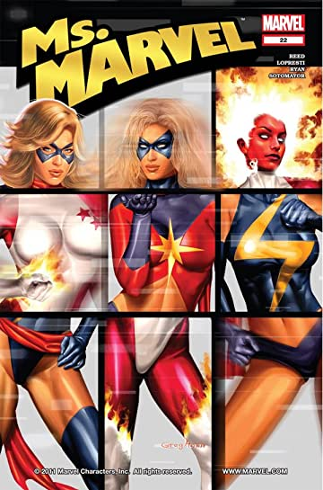 Ms. Marvel (2006-2010) #22