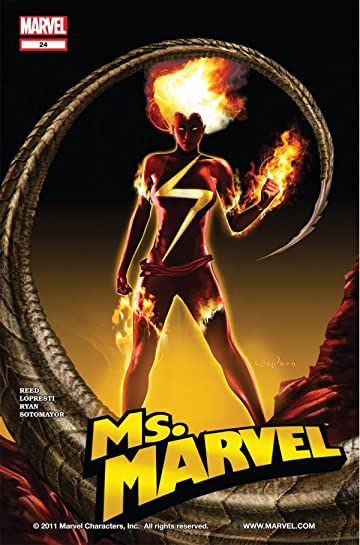 Ms. Marvel (2006-2010) #24