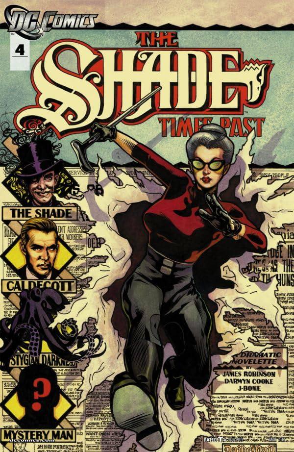 The Shade (2011-2012) #4