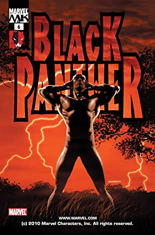 Black Panther (2005-2008) No.6