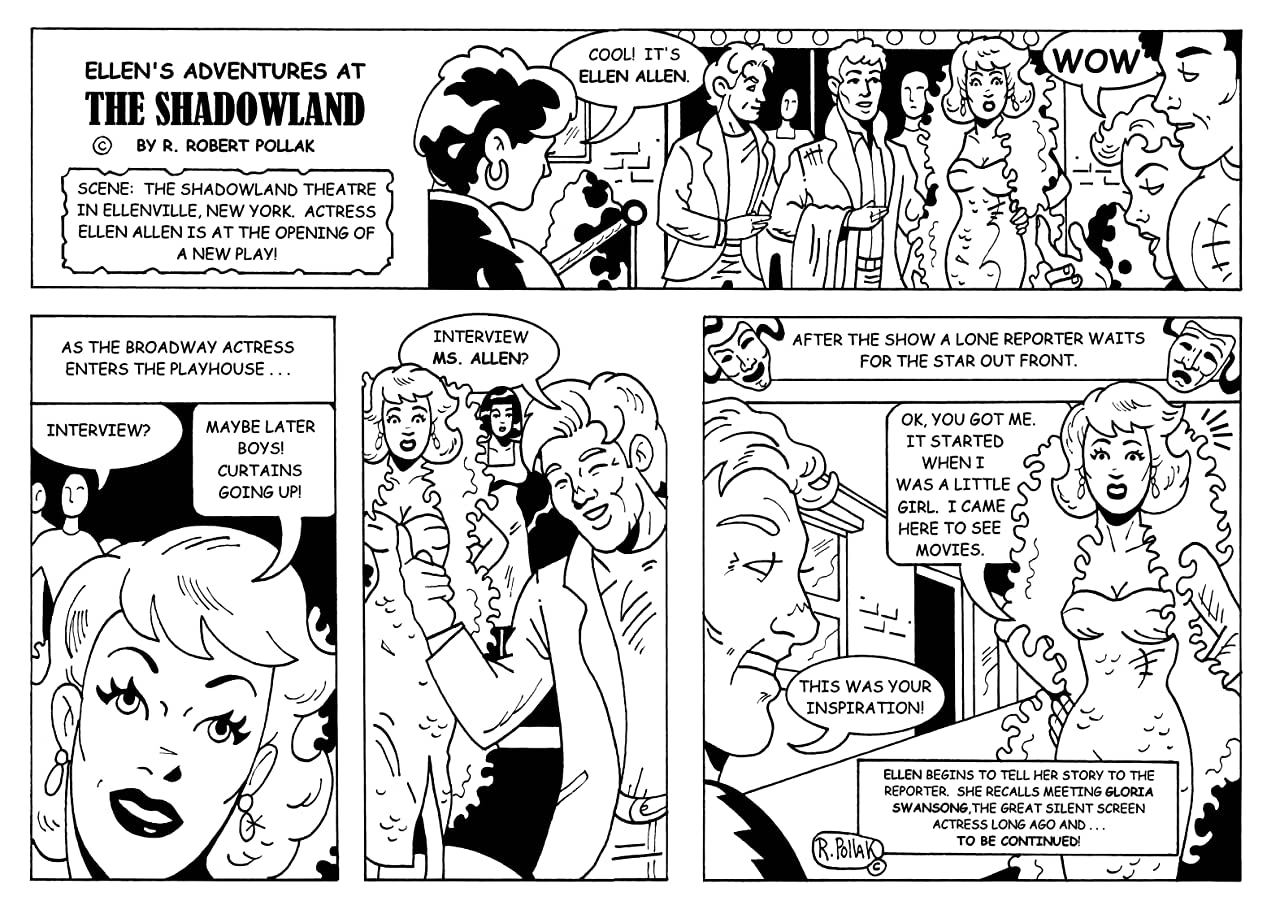 Ellen's Adventures at The Shadowland Vol. 1: The Phantom of Sam's Point