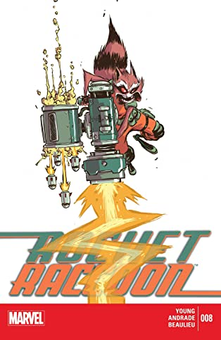 Rocket Raccoon (2014-2015) #8
