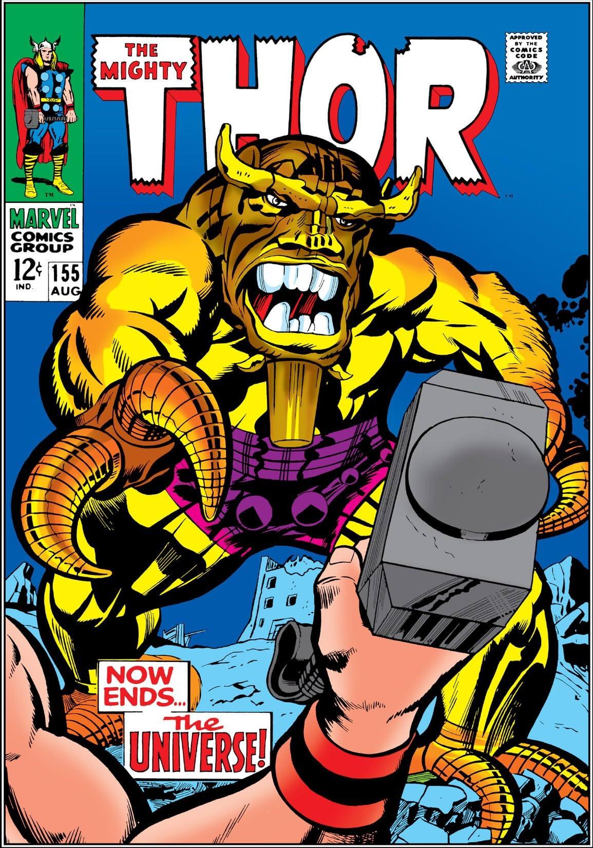 Thor (1966-1996) #155