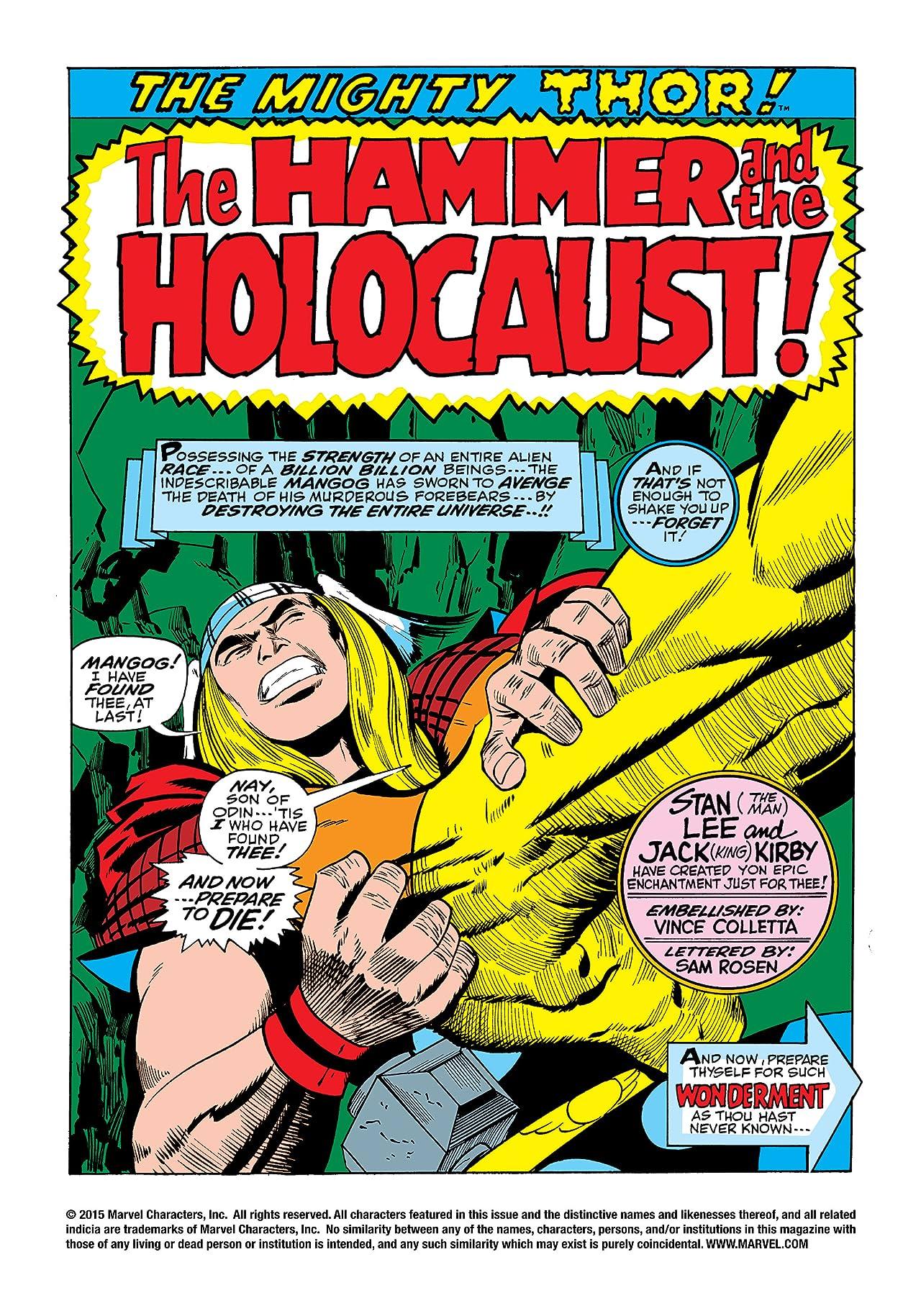 Thor (1966-1996) #156