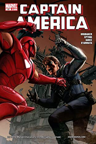 Captain America (2004-2011) #33