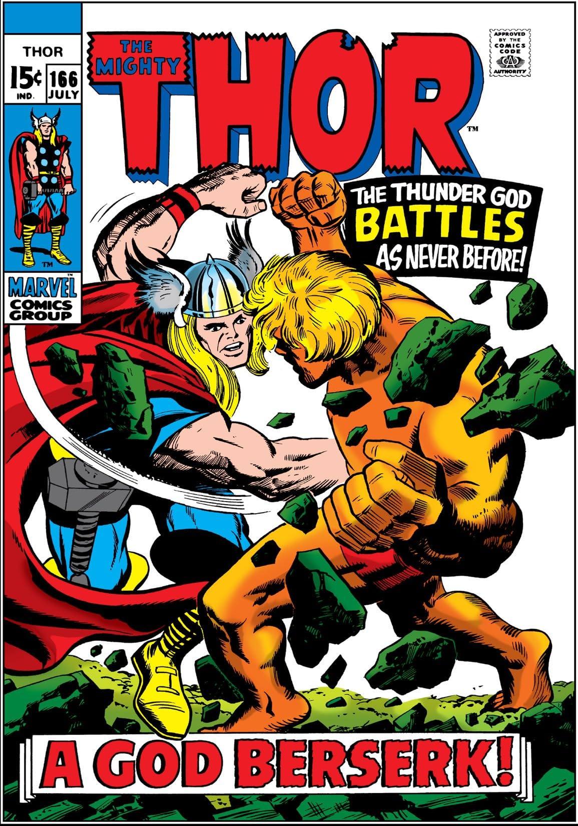 Thor (1966-1996) #166