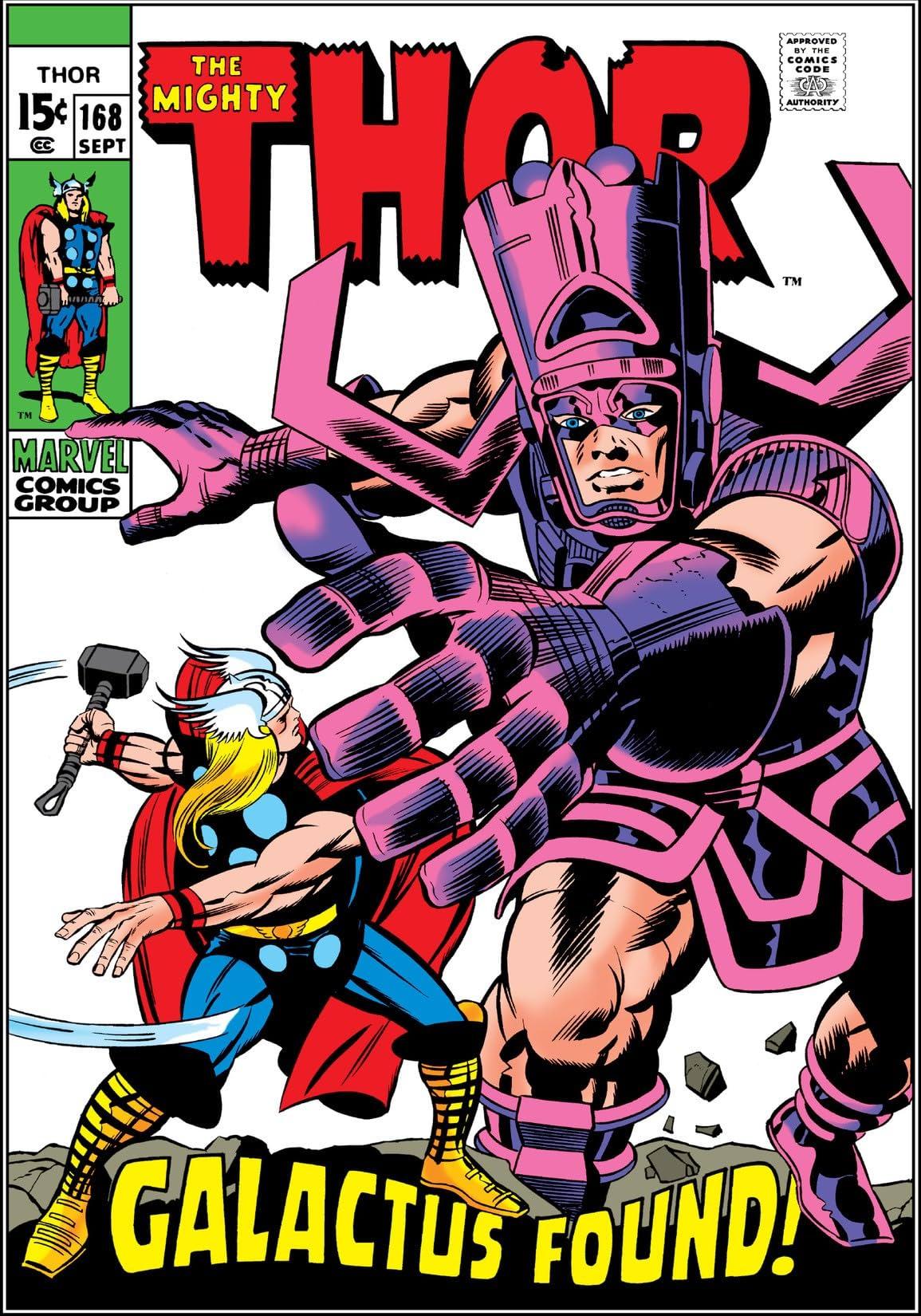 Thor (1966-1996) #168
