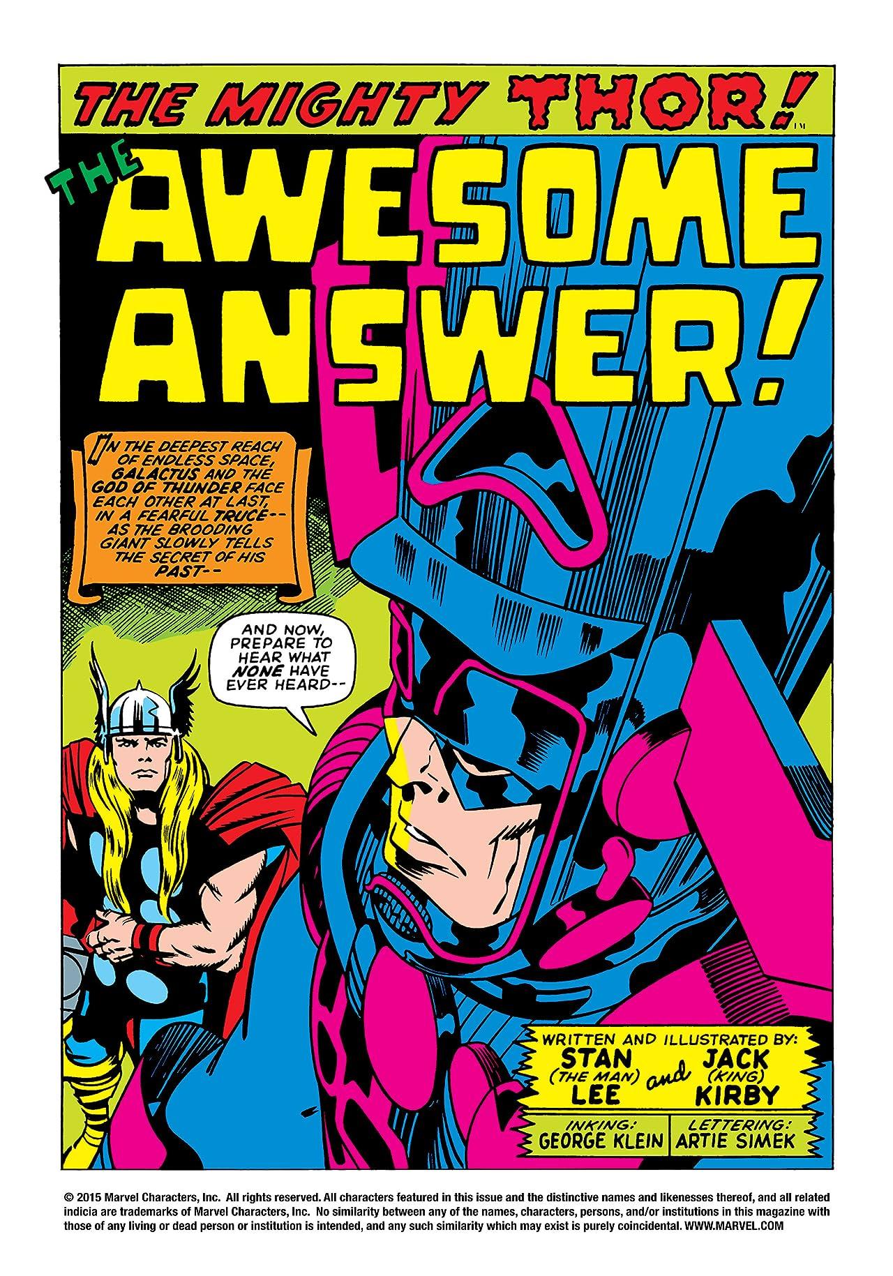 Thor (1966-1996) #169