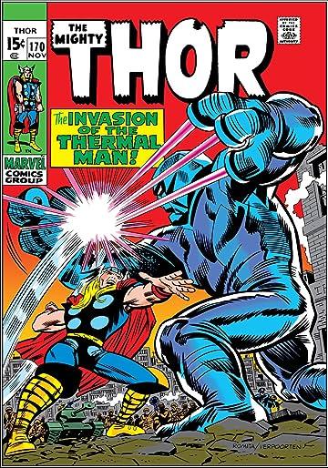 Thor (1966-1996) #170