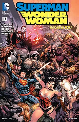 Superman/Wonder Woman (2013-2016) #17