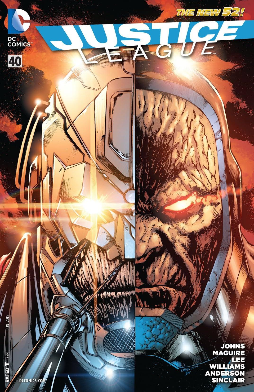 Justice League (2011-2016) #40