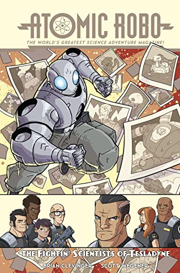 Atomic Robo & The Fightin' Scientists of Tesladyne