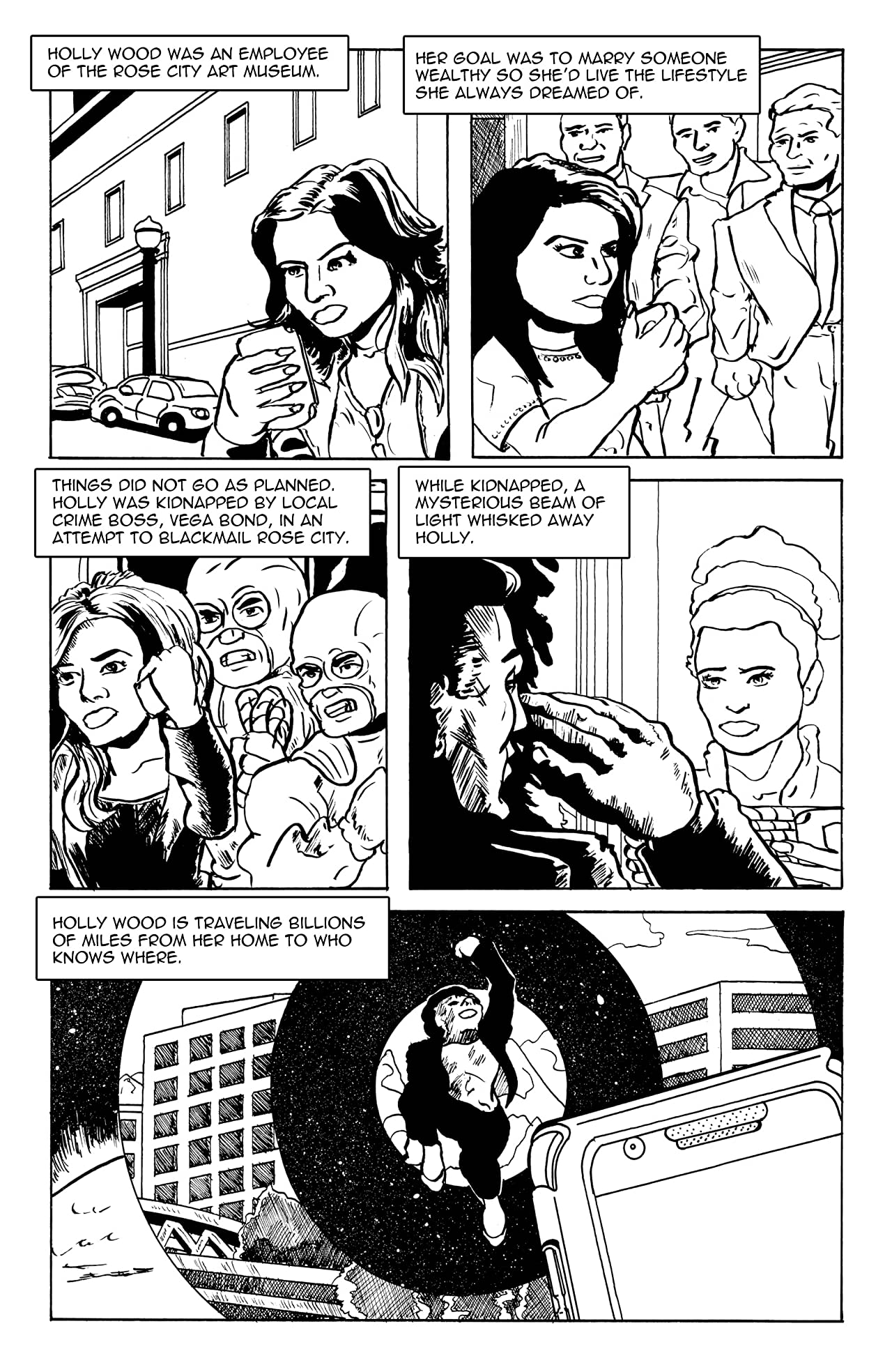 Holly Wood: Space Diva #1