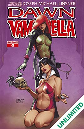 Dawn/Vampirella #3 (of 6): Digital Exclusive Edition
