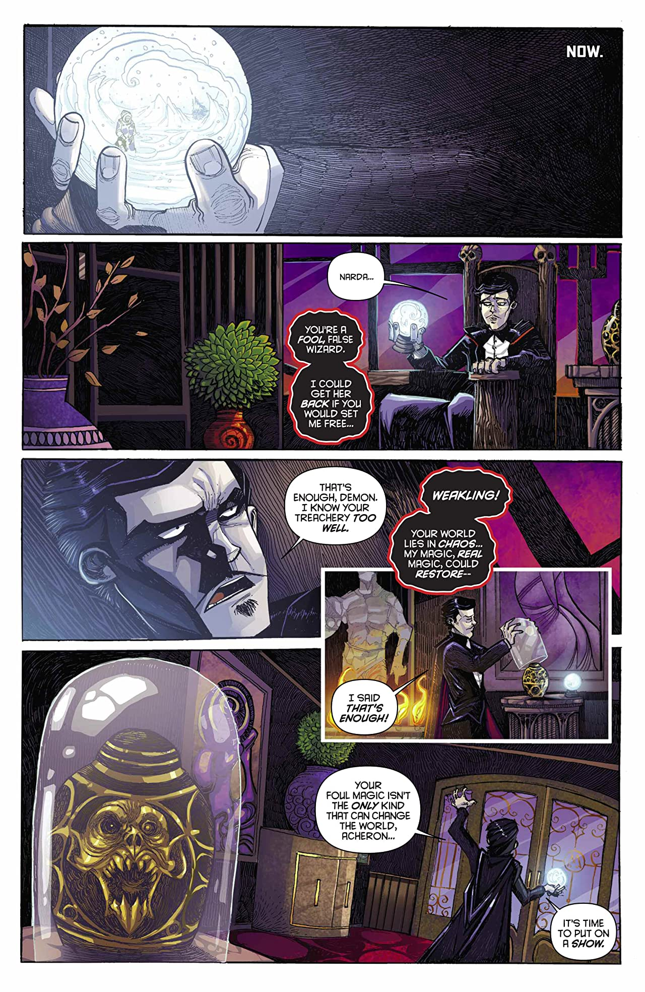 King: Mandrake The Magician #1 (of 4): Digital Exclusive Edition