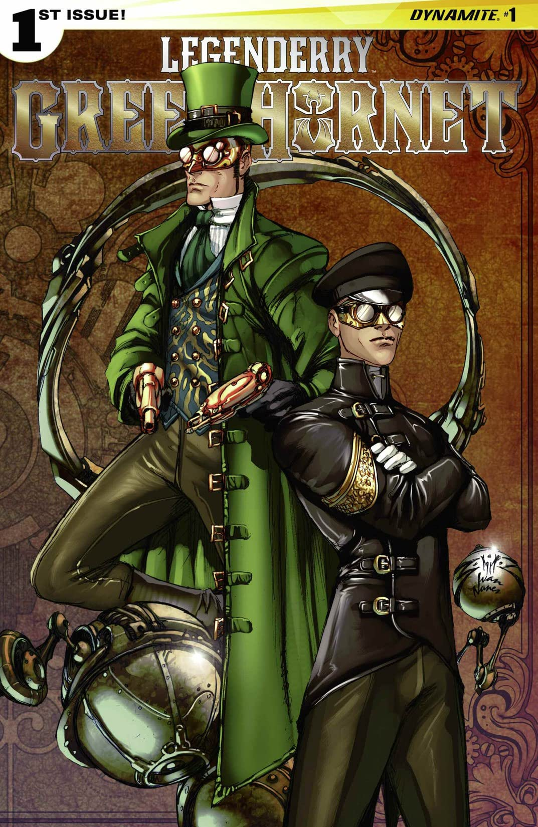 Legenderry: Green Hornet #1 (of 5): Digital Exclusive Edition