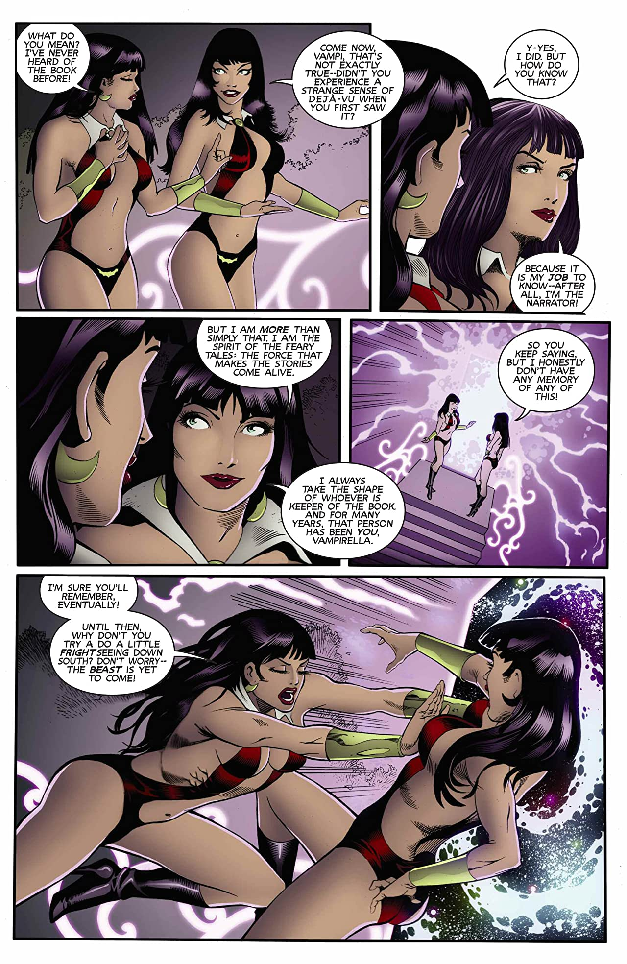 Vampirella: Feary Tales #5 (of 5): Digital Exclusive Edition