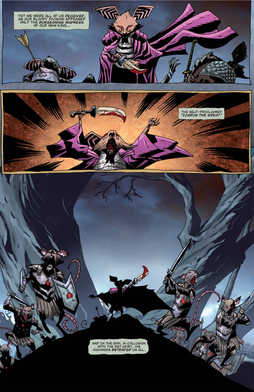 The Mice Templar Vol. 3 #1