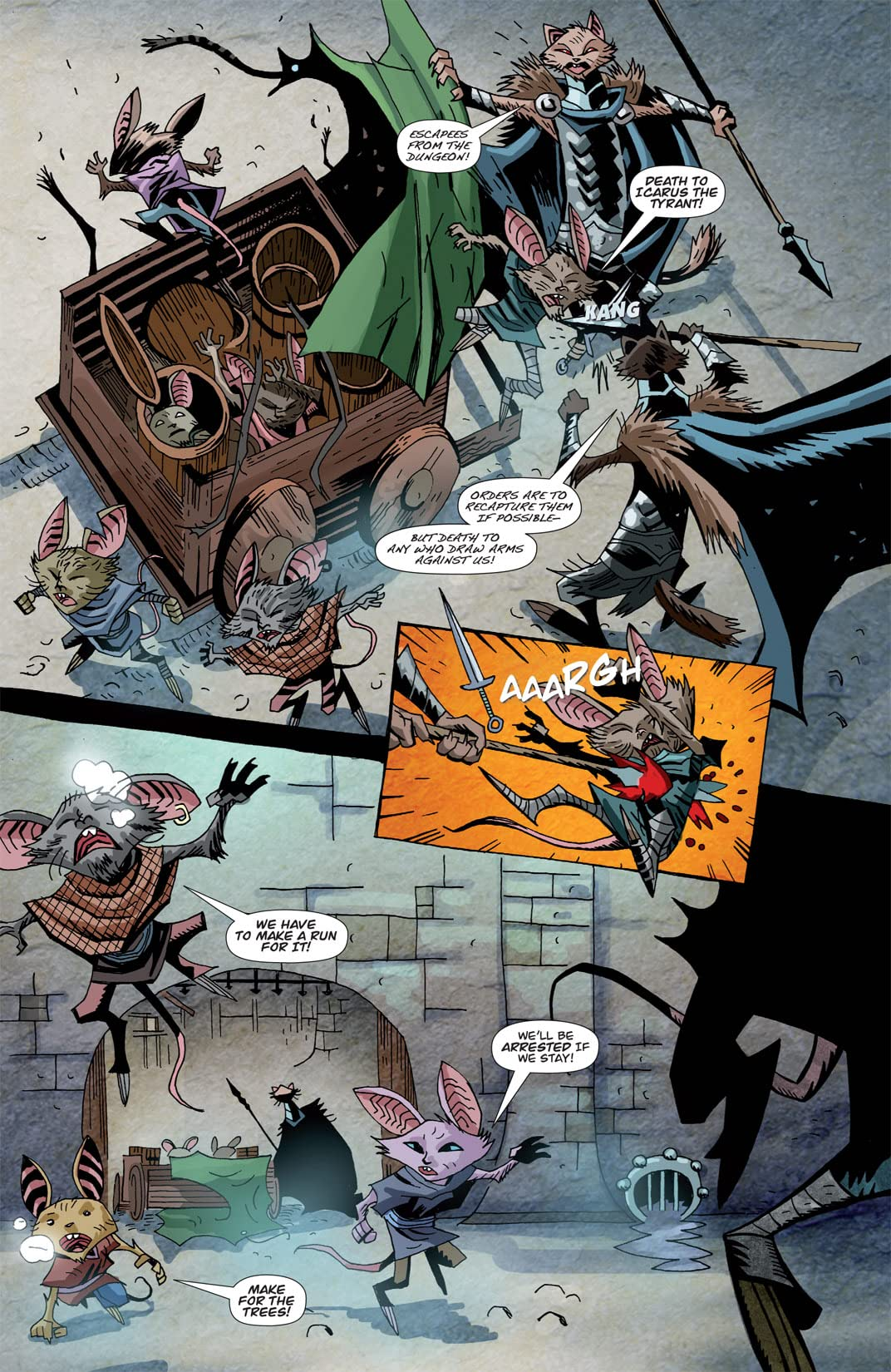 The Mice Templar Vol. 3: A Midwinter Night's Dream #3