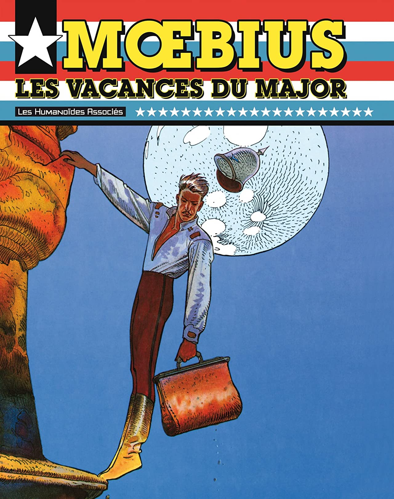 Moebius Oeuvres: Les Vacances du Major USA