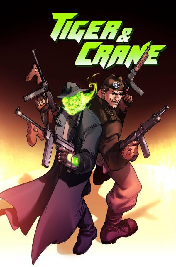 Tiger & Crane #2 (of 4)