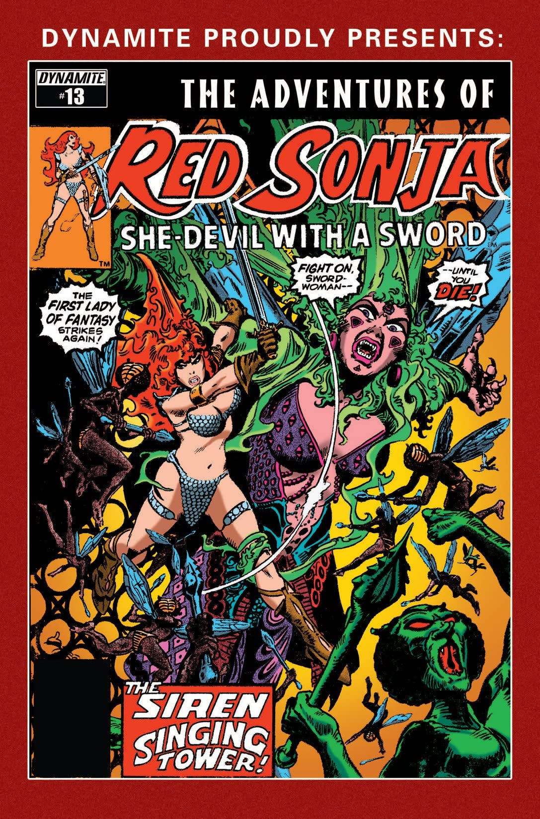 The Adventures of Red Sonja #13