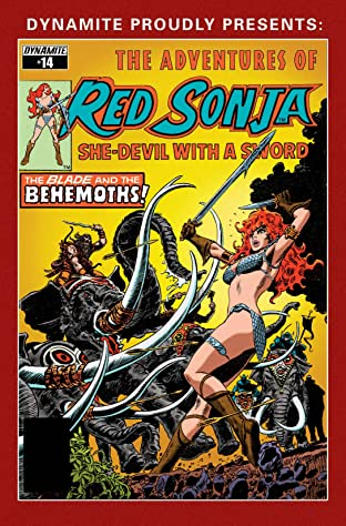 The Adventures of Red Sonja No.14