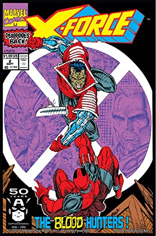 X-Force (1991-2002) No.2