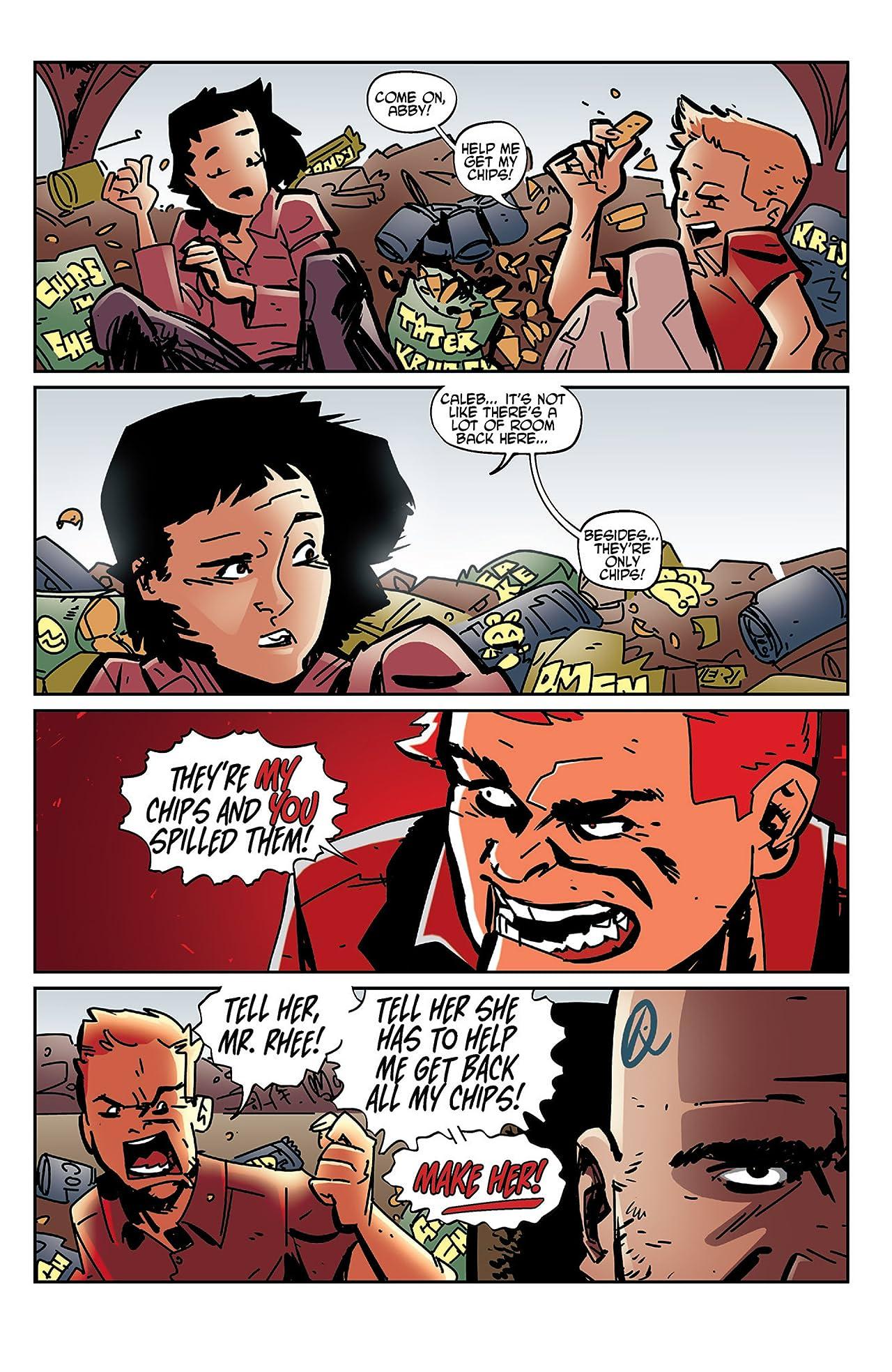Tales of Mr. Rhee Vol. 2: Karmageddon #4 (of 4)