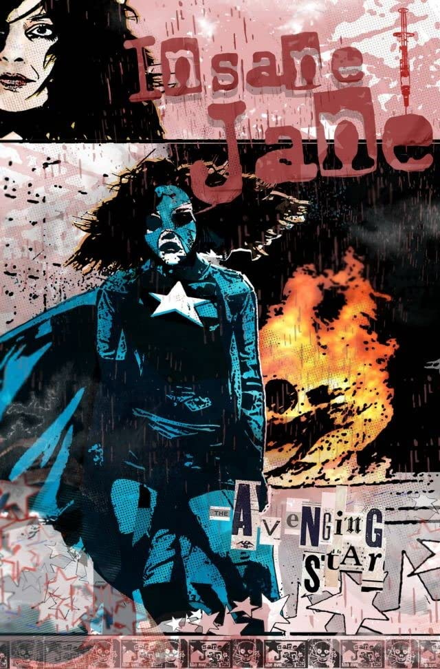 Insane Jane: The Avenging Star #4 (of 4)