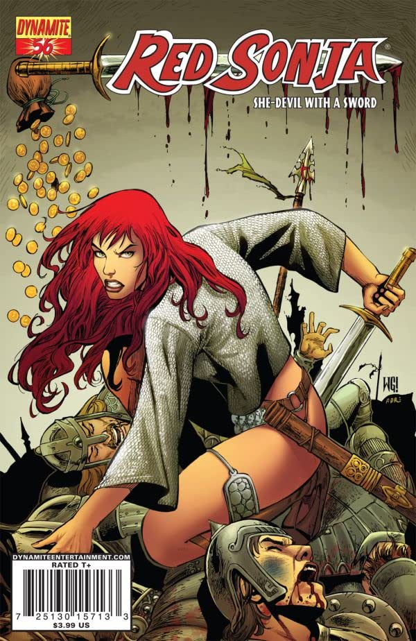 Red Sonja: She-Devil With a Sword #56