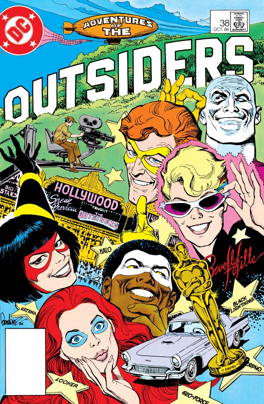 Adventures of the Outsiders (1983-1987) #38
