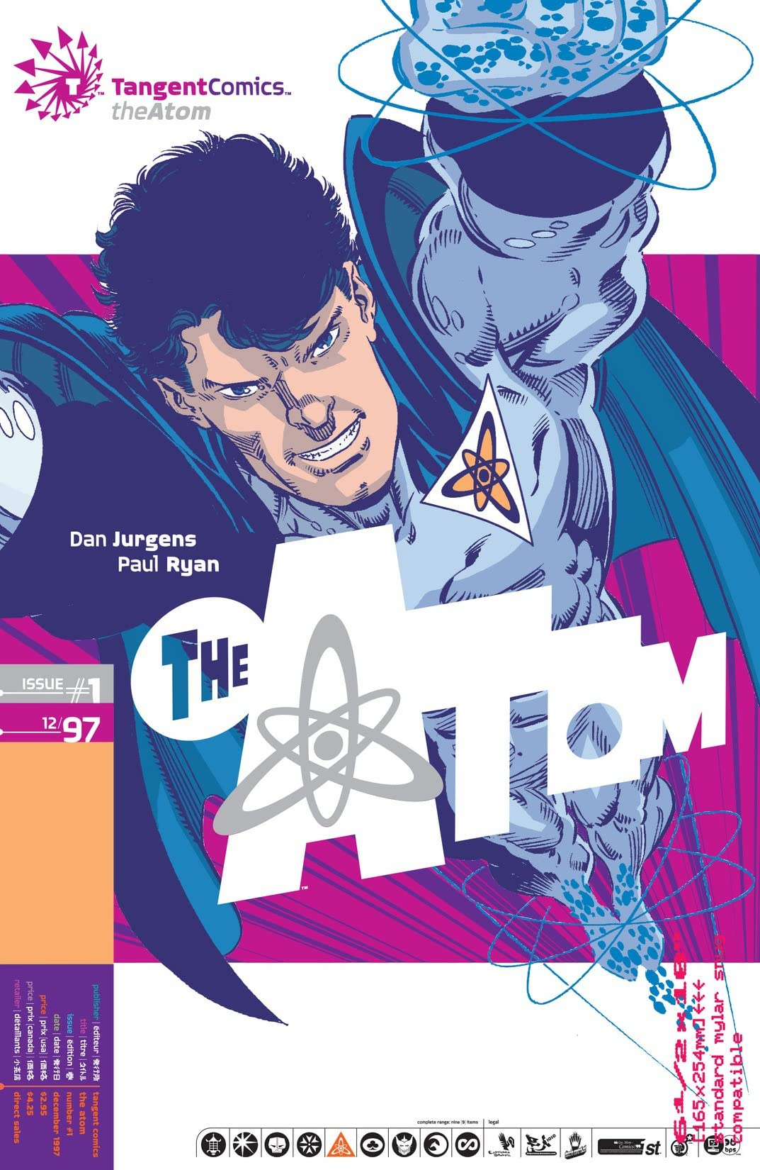 Tangent Comics: The Atom (1997) #1