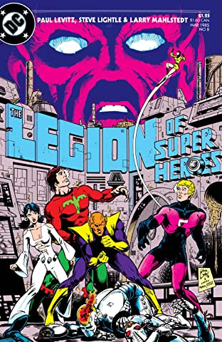 Legion of Super-Heroes (1984-1989) #8
