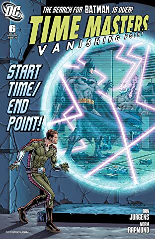 Time Masters: Vanishing Point (2010-2011) #6