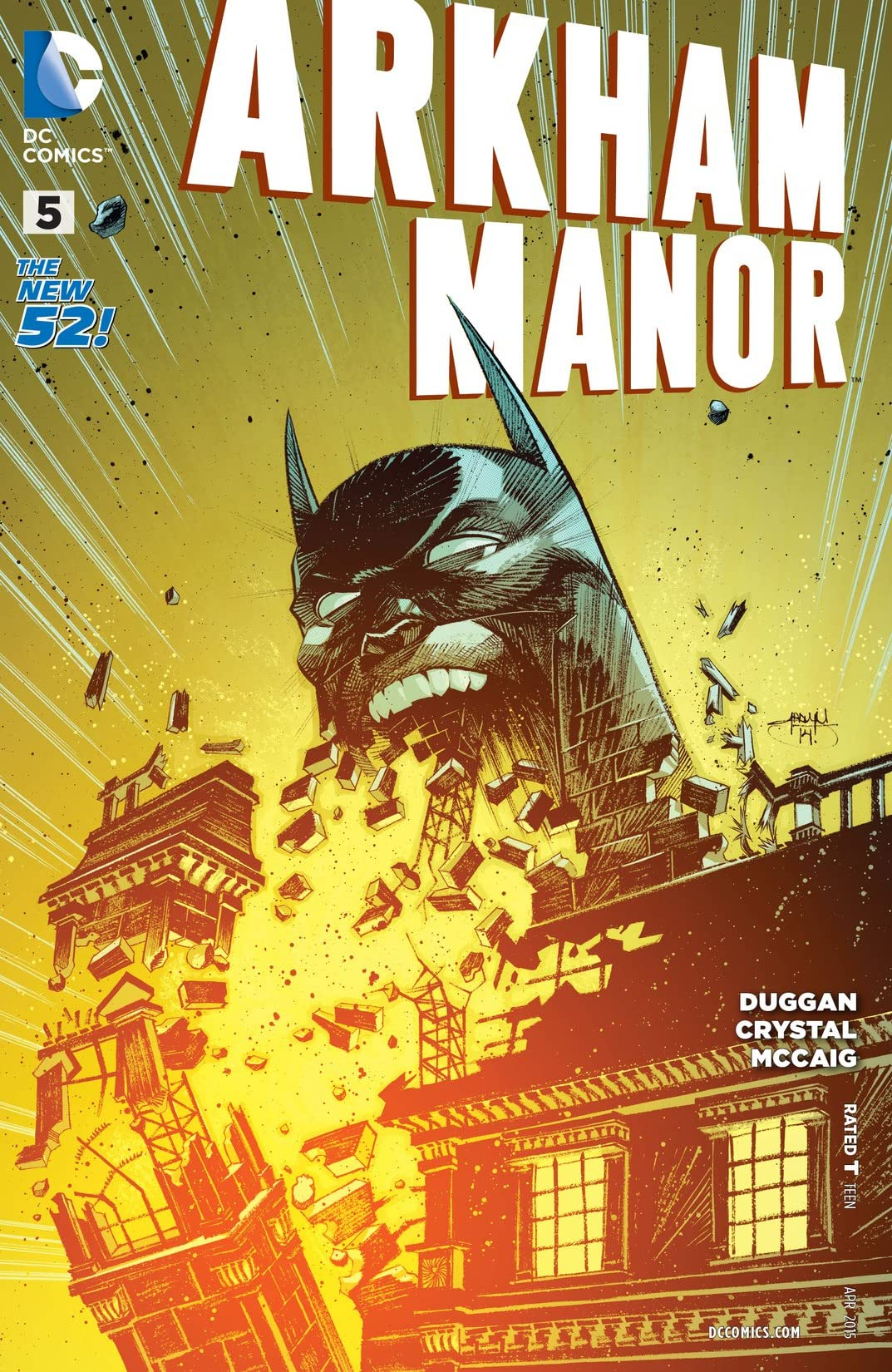 Arkham Manor (2014-2015) #5