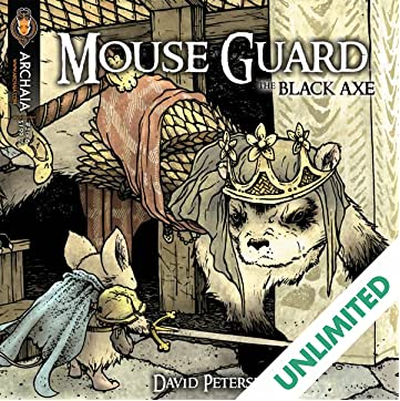 Mouse Guard: The Black Axe #3 (of 6)