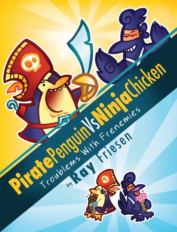 Pirate Penguin vs. Ninja Chicken Vol. 1