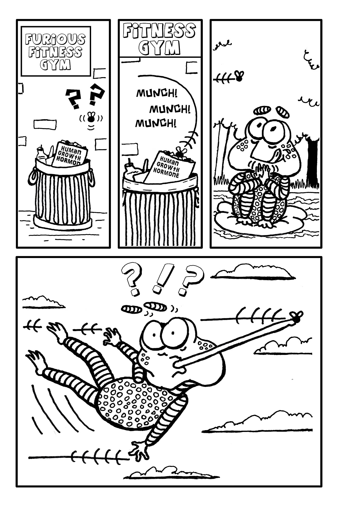 Swamp Tales #1