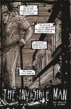 Killer Queen, A Comic Anthology: The Invisible Man