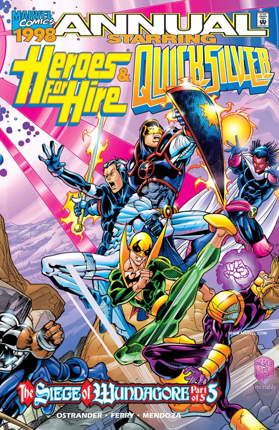 Heroes For Hire/Quicksilver Annual '98 #1
