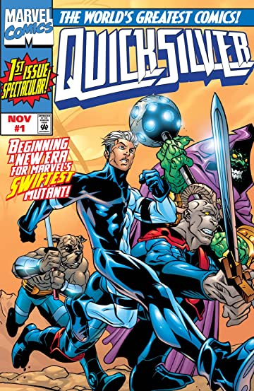Quicksilver (1997-1998) #1