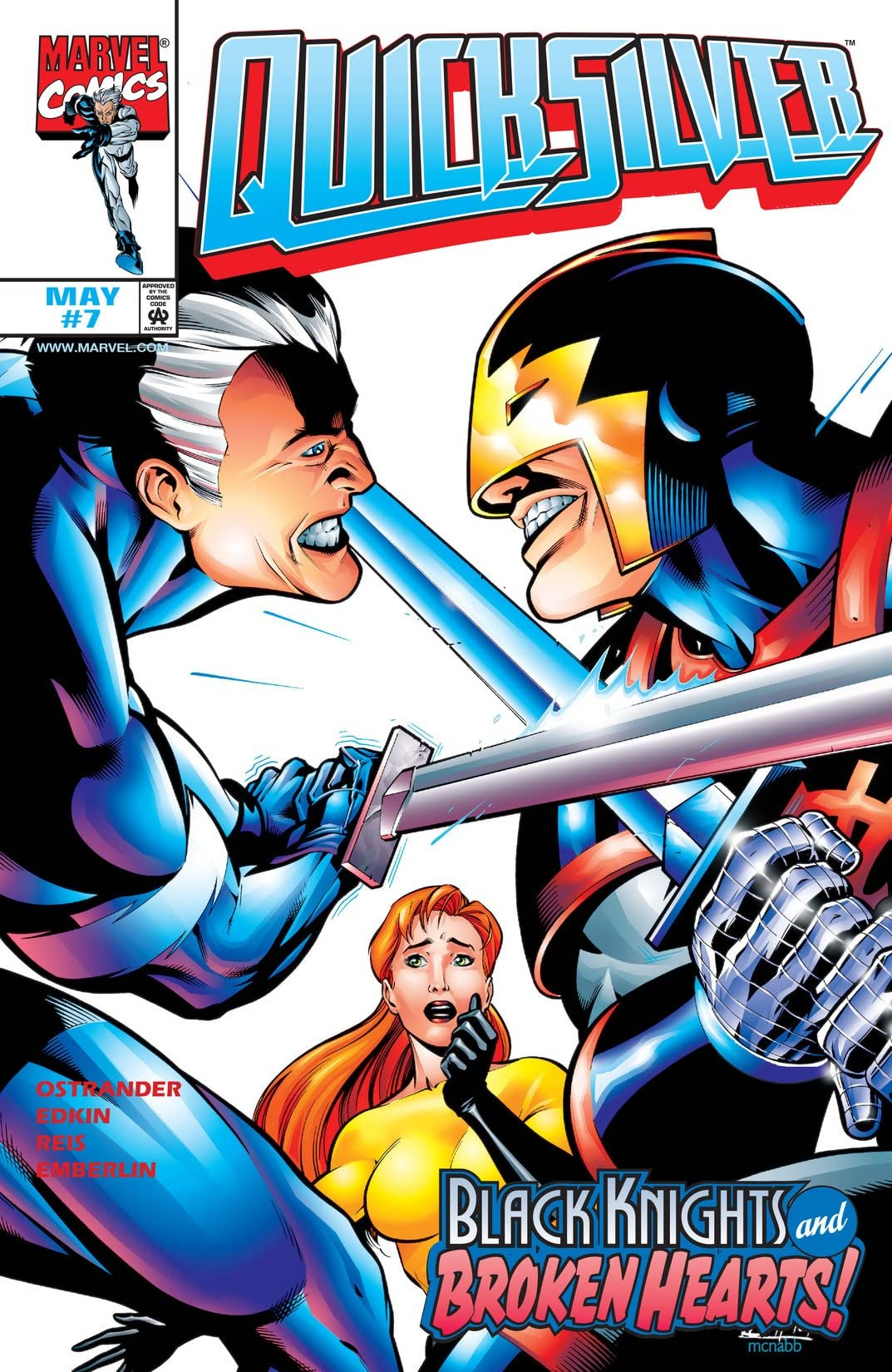 Quicksilver (1997-1998) #7